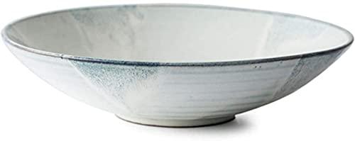 Cuenco de cerámica Cuenco de Ensalada de Frutas de gres Cuenco de Sopa Retro Familiar Cuenco de Fideos Cuenco de Barril Creativo