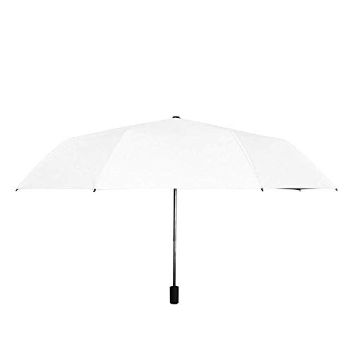 YXDEW Paraguas Paraguas Plegable para Las Mujeres Hombres de Viaje Paraguas Mini 8 Costillas 190t UPF 50 Impermeable a Prueba de Viento Moda Paraguas Anti-UV Paraguas de Viaje Impermeable