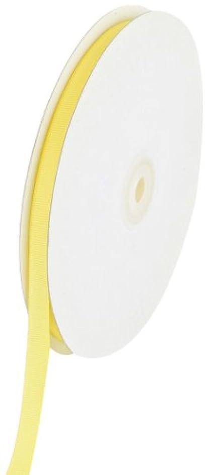 Creative Ideas Solid 3/8-Inch Grosgrain Ribbon, 50-Yard, Canary Yellow