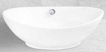 Grünblatt Waschbecken Aufsatz-Waschschale mit Lotus Effekt Nano-Beschichtung (59x39x19)