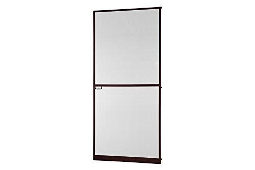 empasa Insektenschutz Tür Master Slim + 100 x 210 cm mit Alurahmen in Weiß, Anthrazit oder Braun, Fliegengittertür Selbstbausatz