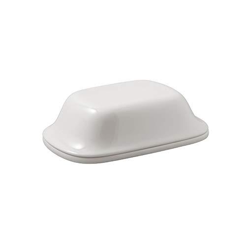Villeroy & Boch - For Me Buttercloche, 2tlg., Behälter für Butter bei Brunches und Festen, Premium Porzellan, spülmaschinengeeignet, weiß
