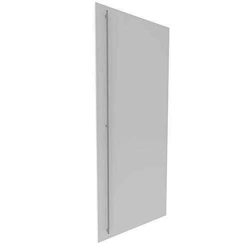 Kühlschrankfront Möbelfront 19mm Frontplatte Unterbau- Einbaukühlschrank Wunschmaß (Weiß (hochglanz), Wunschmaß)