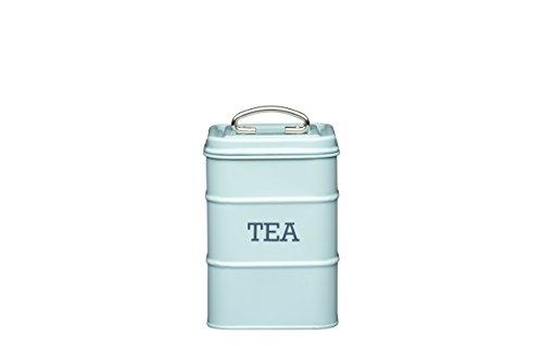 Living Nostalgia Tea Contenedor de Té, Azul (Vintage Blue)
