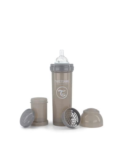 Twistshake 78266 - Biberón, color pastel gris
