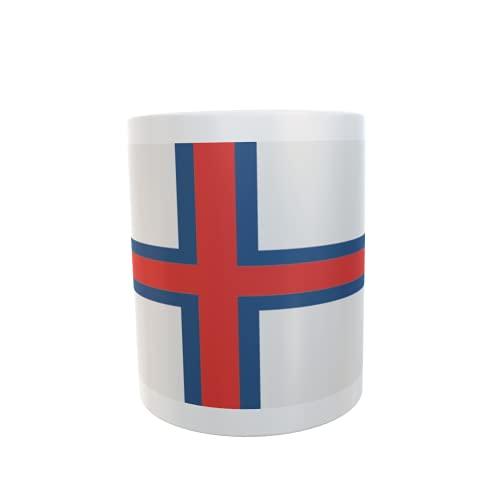 U24 Tasse Kaffeebecher Mug Cup Flagge Faröer