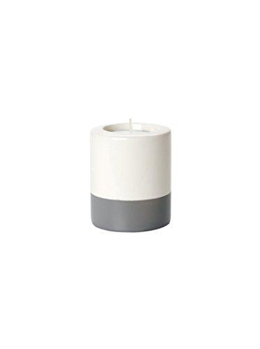 Present Time Petite en céramique Dip-it Sarcelle lumière Support, Gris P, Gris, 8.5cm