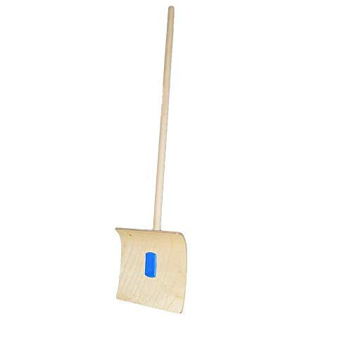 Pelle à neige pour enfants - En bois durable - Longueur du manche : 70 cm - Largeur de la lame : 24 cm - À partir de 6 ans - Poids : 0,51 kg - Fabriqué à la main en Autriche