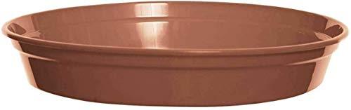 10 x 10' Plastic Saucer Terracotta Pots Cultivation Garden Flowers Plant
