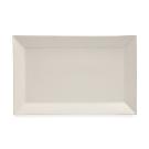 Real Simple® Rectangular Rim Serving Platter in Ivory - Bed Bath & Beyond