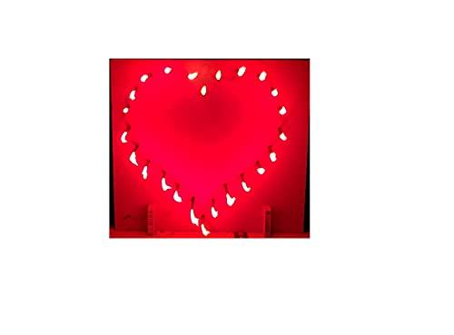Salilio Brennendes Herz - Feuerwerk Hochzeit, Geburtstagsgeschenk für Mama Fre&in, Hochzeitsgeschenk, Muttertagsgeschenk, Valentinstagsgeschenk, zum Heiratsantrag