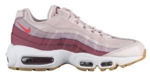 """ナイキ レディース スニーカー Nike Air Max 95″Gel Pack"""" エアマックス 95 Barely Rose/Hot Punch/Vintage Wine/White_25 [並行輸入品]"""