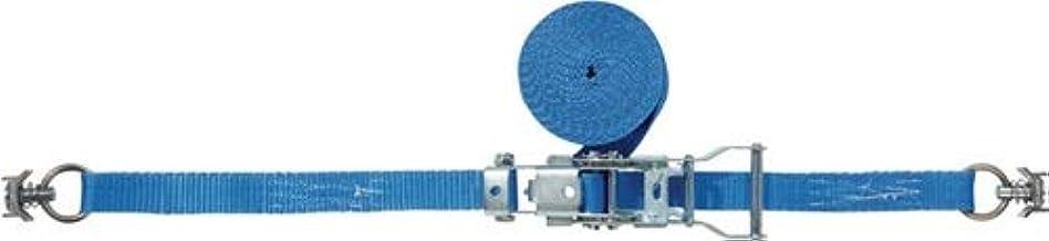 Spanband DIN 12195-2 L.4m B.25mm met ratel + airline-fitting LC U 750 daN PROMAT
