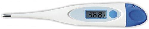FabaCare Tierthermometer mit Gürtelhalterung für Großtiere Pferde, Kühe und Schweine