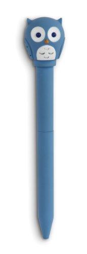 Kikkerland Owl LED Ballpoint Pen (4426C)