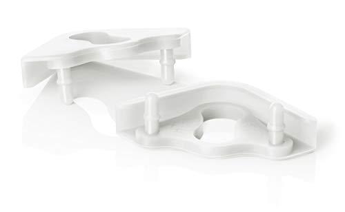 Noctua NA-SAVP6 chromax.White, Paneles Anti-Vibración para Ventiladores 200 mm (16 Unidades, Blanco)