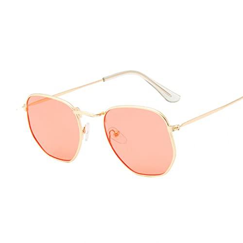 KANGDE Gafas de Sol Retro Negras de Moda para Hombre, Gafas cuadradas Vintage para Hombre/Mujer, Gafas de Sol de Lujo para Hombre, pequeño