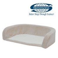 シモンズ ペット用ベッド ドッグマットレス外ゲージ用カバー Sサイズ用 DOGCOVON