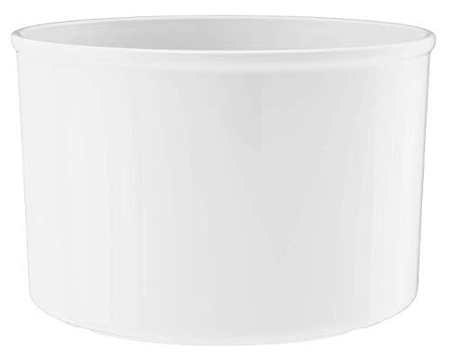 LENI Macetero Corona 18/12, diámetro 20 cm x 13 cm, Color Blanco