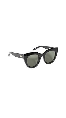 Le Specs Damen Sonnenbrille Air Heart schwarz One Size