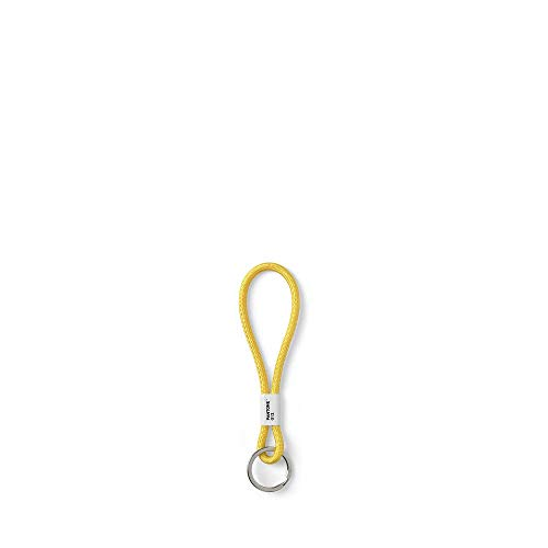 Copenhagen design PANTONE Key Chain S, short key hanger, nylon, Yellow 012 C