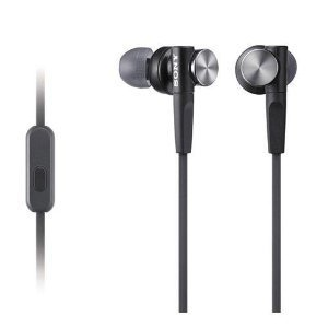 Great Essential Sony MDRXB50AP Extra Bass Earbud Headset  Black