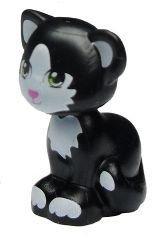 New Lego Friends Black Cat 1 Minifigure Animal Loose