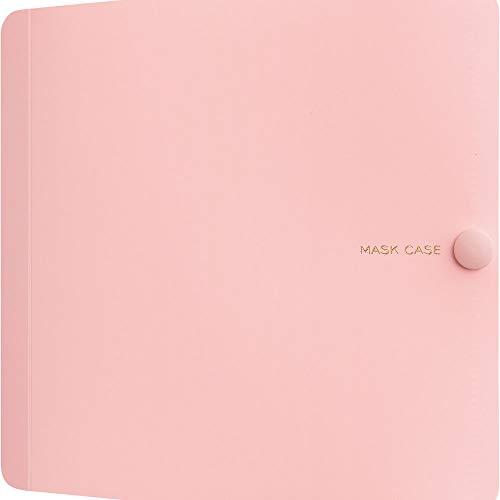 キングジム マスクケース 布・ポリウレタン用 1/2サイズ MC1006 ピンク