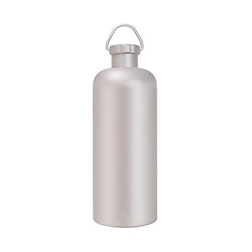 SCKL Hip Flask, Outdoor Titanium Waterfles, 600ml Draagbare Gezonde Drink Kettle Camping Wijnfles