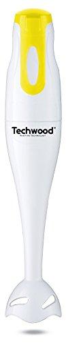 Techwood batidora de mano amarillo y blanco, 170