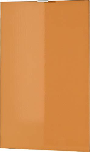 Germania 3457-185 Tür mit Einlegeboden für Kommode/Sideboard Colorado in Orange Hochglanz, 48 x 76 x 2 cm (BxHxT)