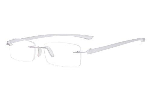 Eyekepper Piccolo Lenes senza montatura occhiali da lettura Uomo Donne +2.00