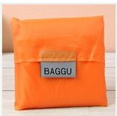 WEIAIXX Elegante Portátil De Gran Capacidad De Plegado Supermercado Shopping Bag Bolso De Mano Bolsa Verde De Bolsillo Impermeable Bolsa De Basura Naranja