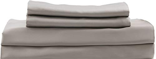 HotelSheetsDirect 100% Bamboo Bed Sheet Set Soft as Silk, Taupe, Cooling, Bed Sheets Full or Double (Full, Sand)