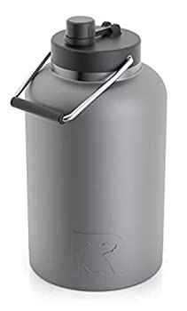 RTIC Jug 1 Gallon Graphite Matte Vacuum Insulated Large Water Bottle with Handle