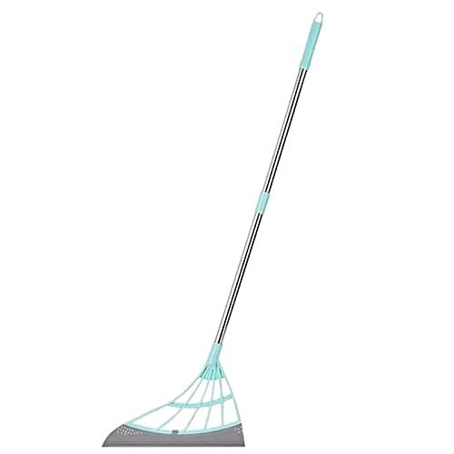 Diseño de mango colgante 2 en 1 escoba para la cocina o el salón, fácil de limpiar, juego de escoba ligero de polipropileno con barredora