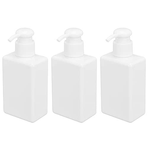 Botella dispensadora de jabón, botella de viaje ligera 3 piezas para gel de ducha para fregaderos de cocina