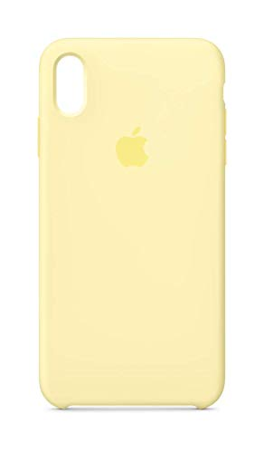 Apple Silicone Case (for iPhone Xs Max) - Mellow Yellow