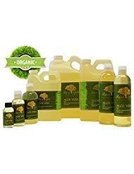 4 oz Premium Organic Aloe Vera Oil Pure Health Hair Skin Care Moisturizing