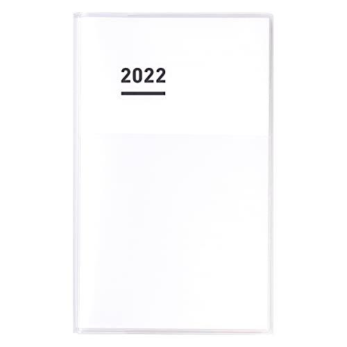 コクヨ ジブン手帳 DIARY 手帳 2022年 A5 スリム ホワイト ニ-JCD1W-22 2021年 11月始まり