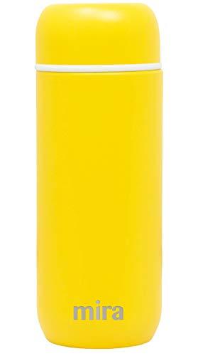 Mira Termo pequeño con aislamiento al vacío | Botella de agua para niños | a prueba de fugas y derrames