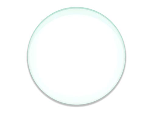 """Double Concave Lens, 1000mm Focal Length, 3"""" (75mm) Diameter - Spherical, Optically Worked Glass Lens - Ground Edges, Polished - Great for Physics Classrooms - Eisco Labs"""