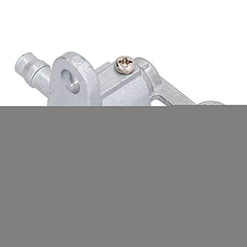 Interruptor de llave de purga, interruptor de gas 4X4-24500-00-00 Interruptor de válvula de combustible Grifo de combustible de gas para Yamaha PW50 PEEWEE50 1981-1983 1985-1987 1990-2009