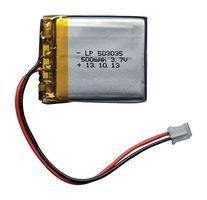 ADAFRUIT INDUSTRIES 1578 Lithium Ion Polymer Battery - 3.7v 500mAh