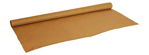 FLORIO CARTA | Rotolo di Carta Kraft Colore Avana | Misure: 100 cm x 25 mt. | Ottimo per Imballaggi e pacchi postali.