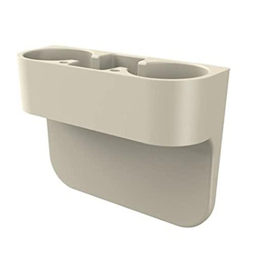 BAWAQAF Tipo de inserción Caja de almacenamiento lateral del coche Asiento consola de bolsillo titular de la taza bandeja lateral caja de almacenamiento asiento