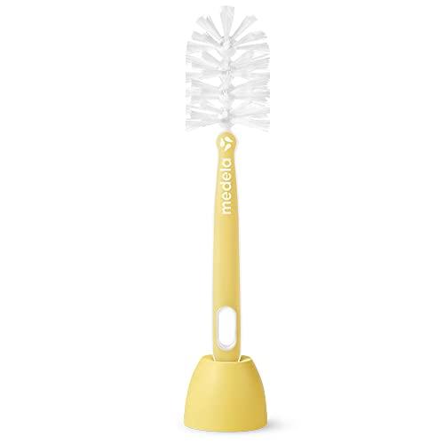 Medela Cepillo para biberones Quick Clean - Diseño de cerdas de 180 grados para una limpieza sin salpicar y sin complicaciones, sin BPA