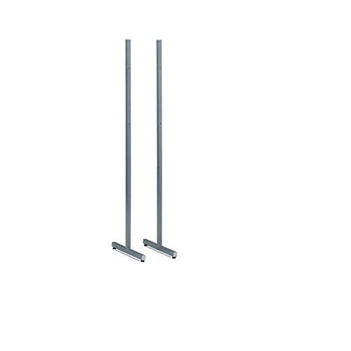 Juego de soportes metálicos Faibo para Pizarra de 190x60cm