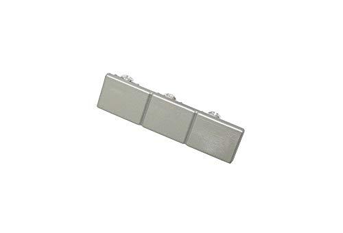 Gardinia Endstück, Kunststoff, Silber, 0.1, 2