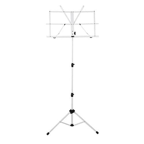 Ravel Folding Music Stand, White (SSSRAVELWHITE)